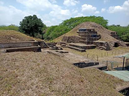 Maya Pyramiden San Andres El Salvador