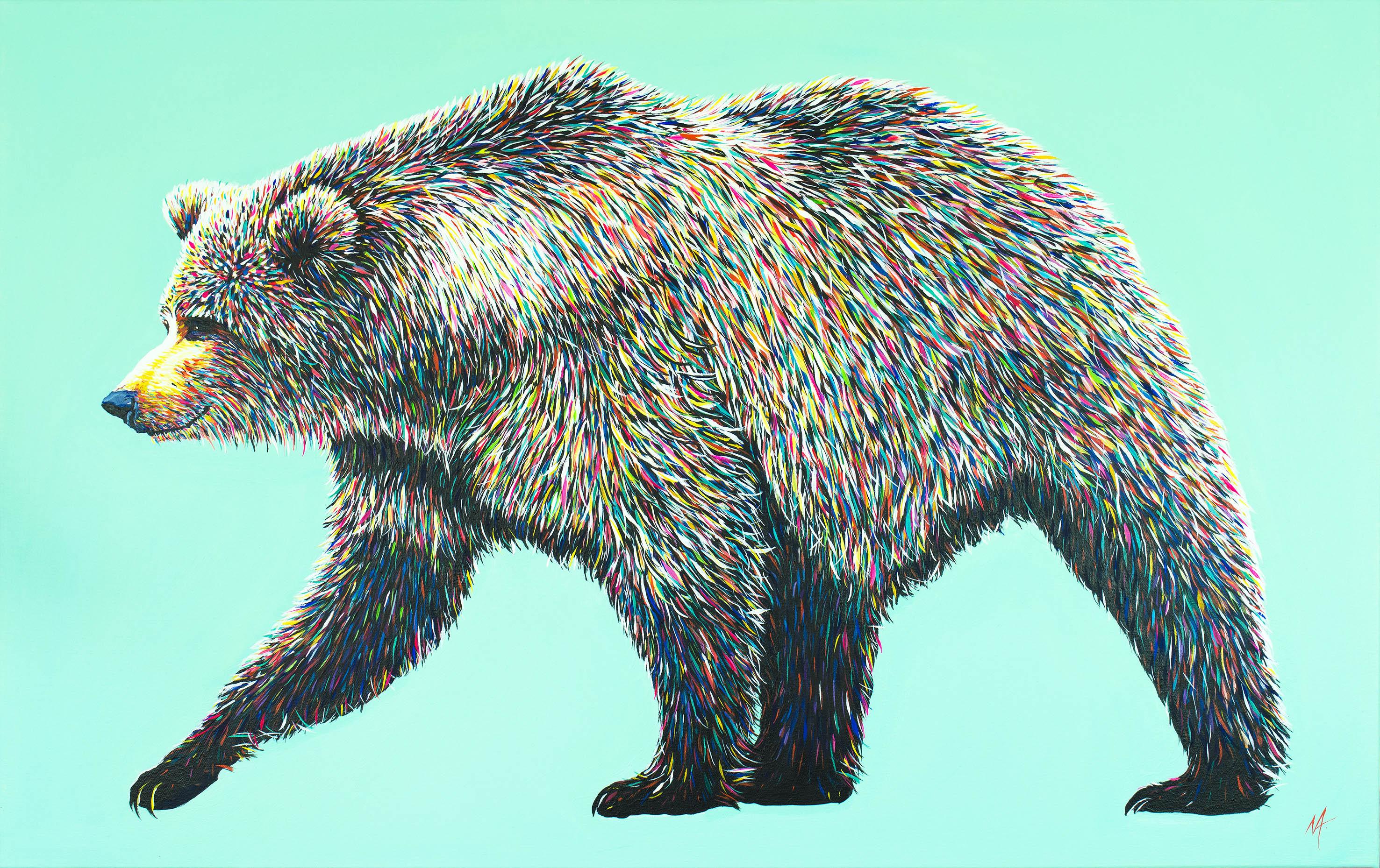'Bear Necessities' (2016) - Sold