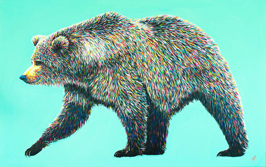 'Bear Necessities' (2016) - SOLD