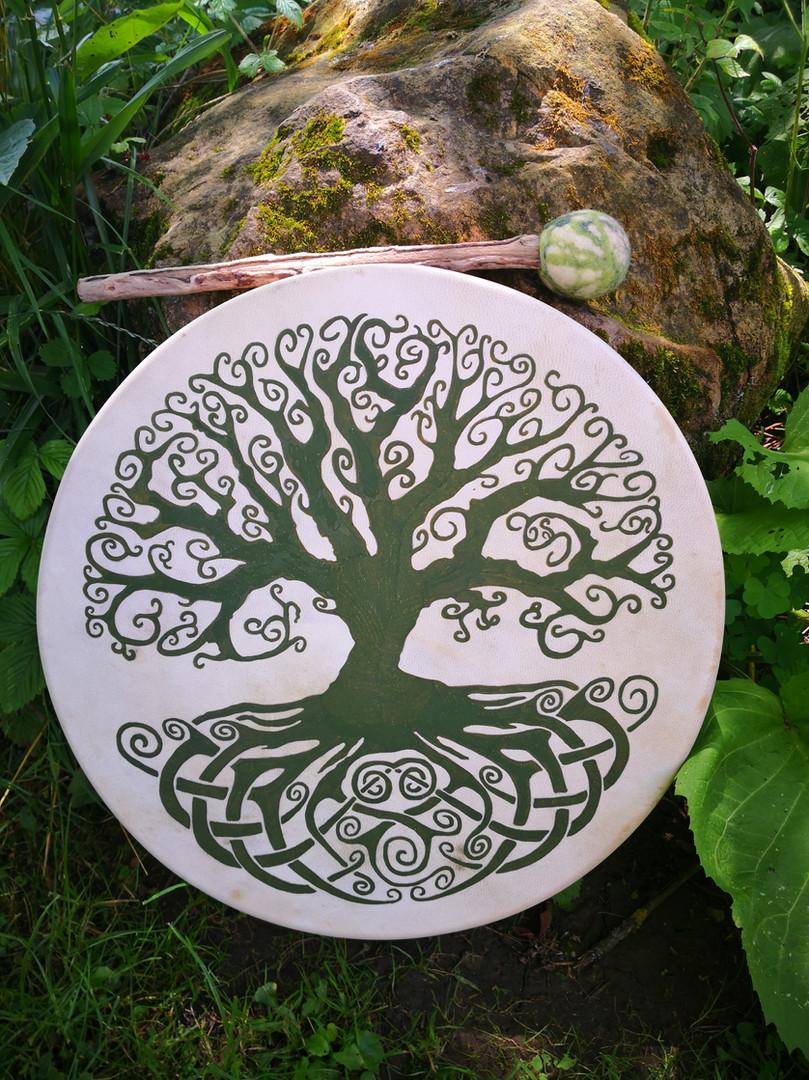 Lebensbaum Trommel