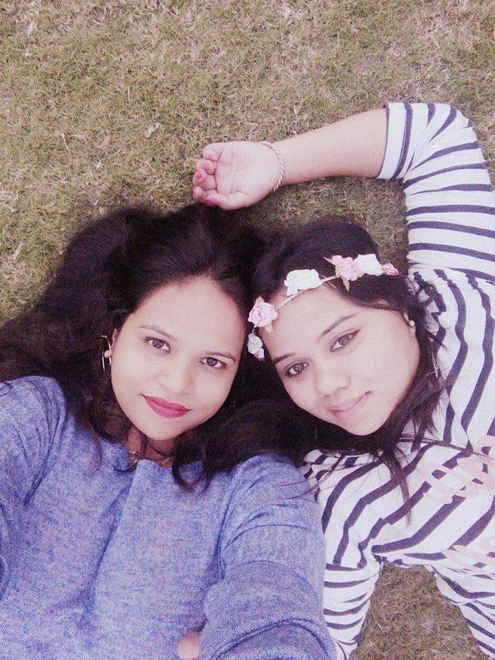 Shikha and I during NH7 Weekender at Pune