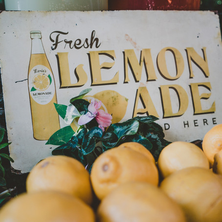 Of lemons & lemonades: Recipe to recharge during isolation
