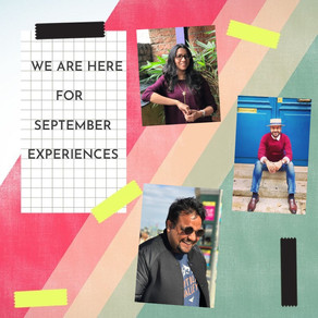 Experiences for September