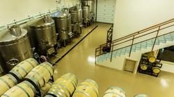 Inside Cooper Ridge Vineyard winery