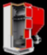 Автоматический угольный котел Хайцтехник q bio разрез