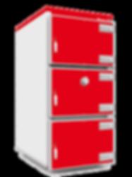 Промышленный твердотопливный котел отопления Heiztechnik Q MAX PLUS DR