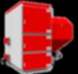 Промышленный твердотопливный котел отопления Heiztechnik Q Max Eko Duo
