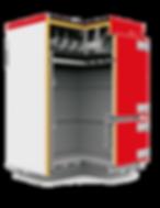Промышленный твердотопливный котел отопления Heiztechnik Q Plus Agro разрез