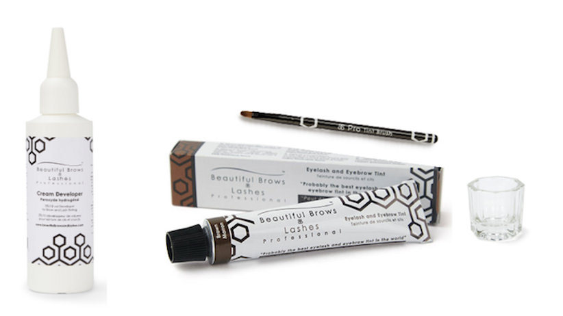 Eyebrow & Eyelash Tint Mini Kit