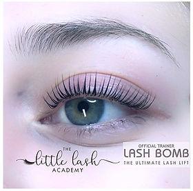 #lashlift #lashliftandtint #lashbomb #la