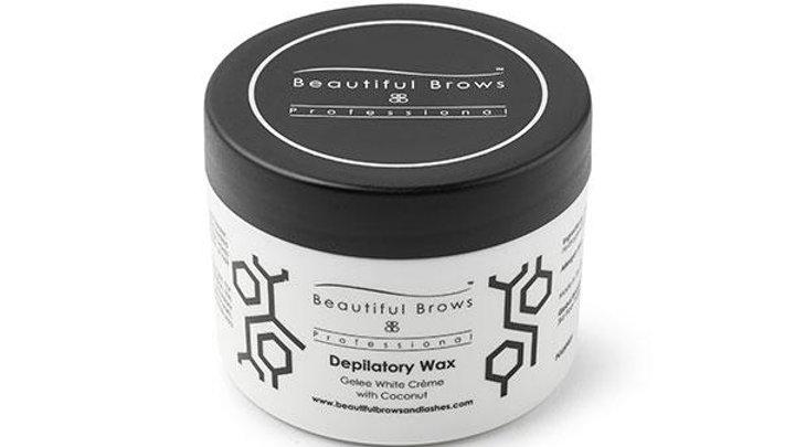 Cream Coconut Depilatory Wax