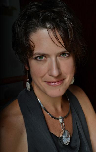 Portrait of Brooke Sutphin -owner and designer of b.shannon designs