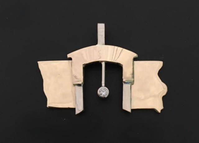 covered bridge pendant