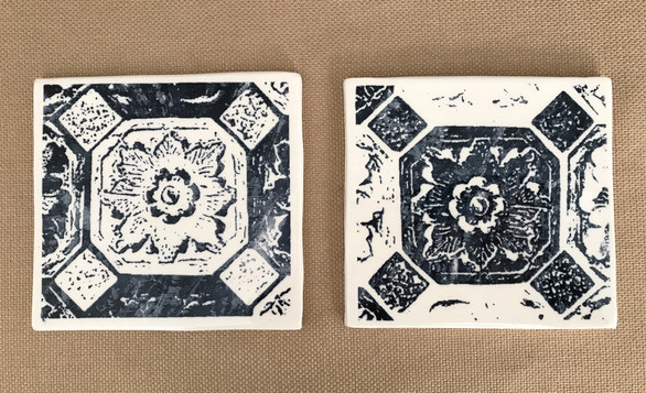 Screen Printed Tile
