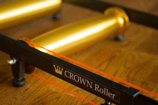 Crown Roller, the most stable, best, most fun, easiest to ride cycling rollers trainer.
