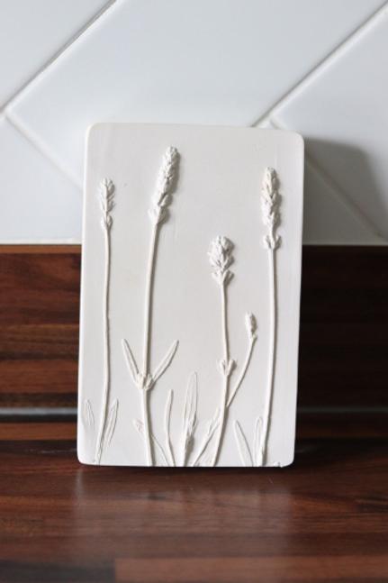 Lavender Flower Tile