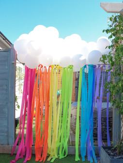 Cloud Rainbow Installation