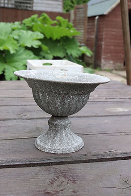 Grey Centerpiece Urn