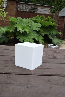 White Cube Vase