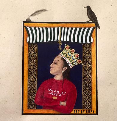 Silent Safar, wear it like a crown