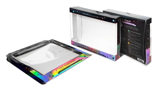 STE Folding Carton with Window