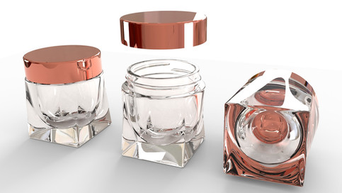 Custom Glass Jar