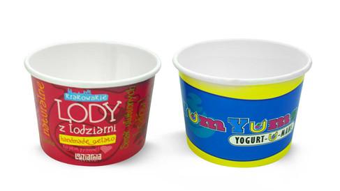 Paper Yogurt Bowl