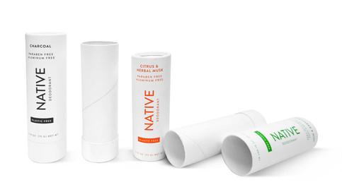Deodorant Push Tube