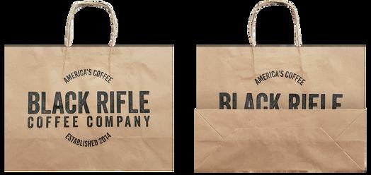 Black Rifle Kraft Bag