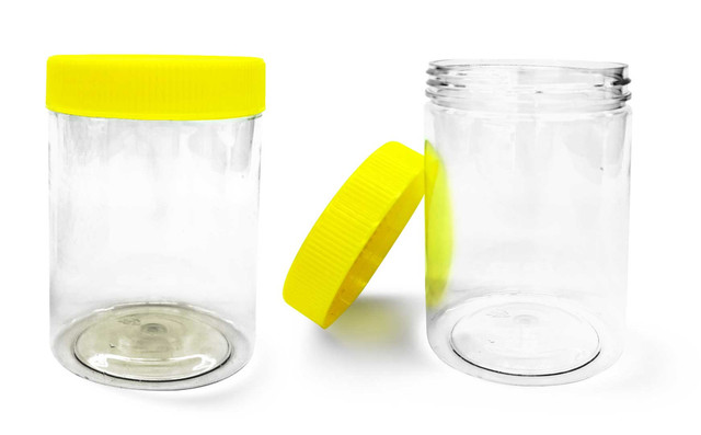 Twist Top Clear Jars