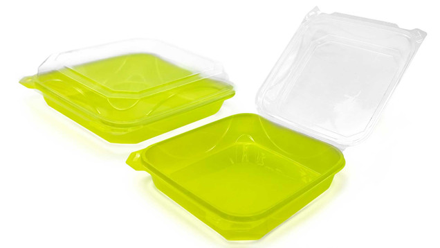 Plastic Clam Shell Food Container
