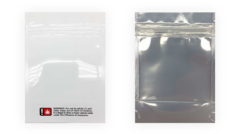 Child Resistant Mylar Bag