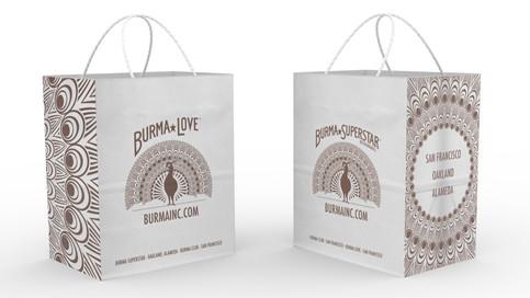 Burma Love Kraft Bag