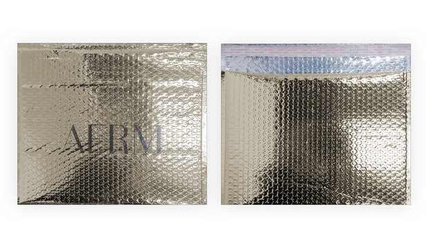 Printed Glamour Foil Bubble Mailers