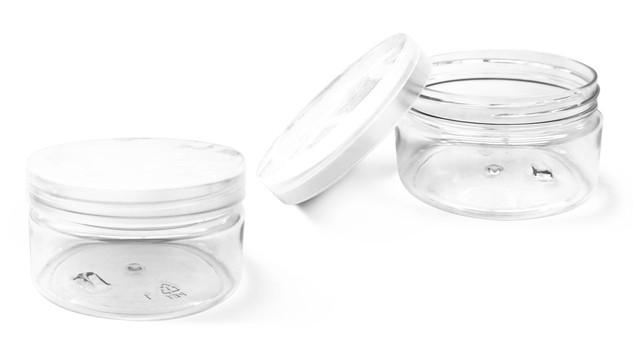 Twist Top PET Clear Jars