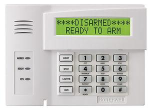 honeywell-6164us-alphanumeric-alarm-keyp
