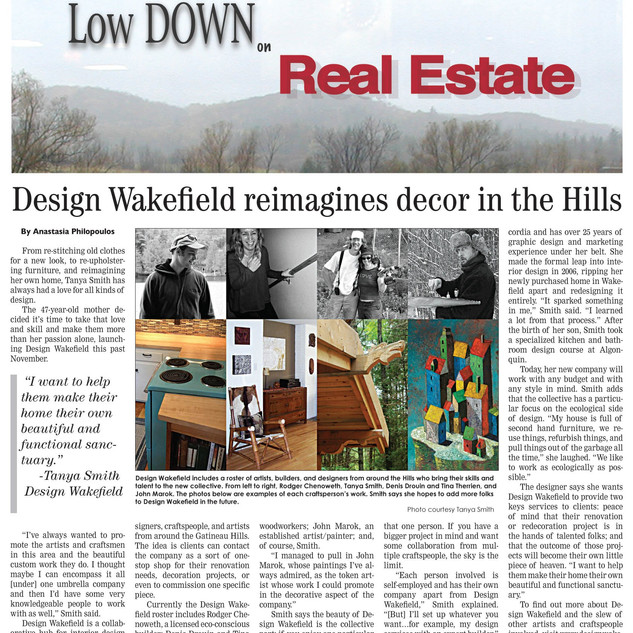 Low Down article, fall 2015