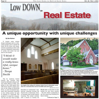 Low Down article Nov. 2016 p.1