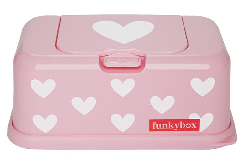 Funkybox Pink Hearts-Min of 4