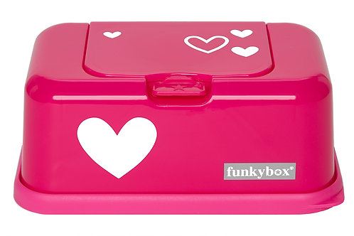 Funkybox Hot Pink Hearts-Min of 4