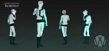Bordius Character Sheet