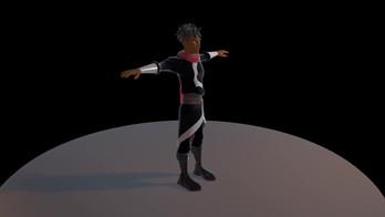 Damian 3D Model