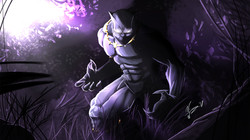 From The Shadows Wallpaper purple v2