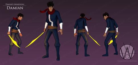Damian Character Sheet