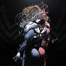 Venom red