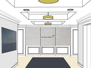 43rd floor elevator lobby options - 3-1.