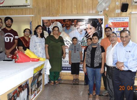 #wpiw2019 Seminar on PIDby IPSPI &Maulana Azad College,LN Hosp. ,New Delhi