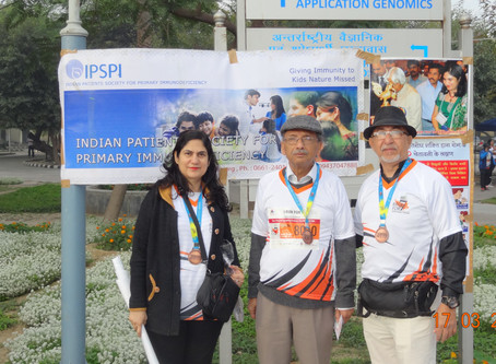 IPSPI supports ORD-I event Race For 7 in New Delhi on March 17,2019.