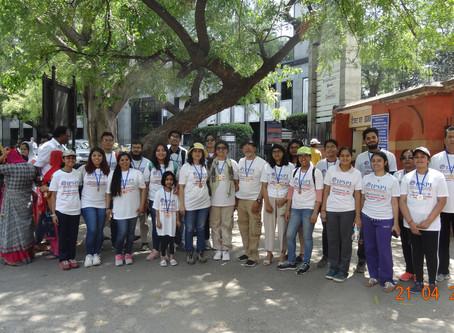 #wpiw2019 Walk for awareness on PIDin Jantar Mantar,New Delhi by IPSPI collaboration with AMSAINDIA