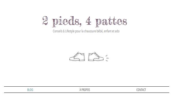 2 pieds 4 pattes blog chaussures pour enfants